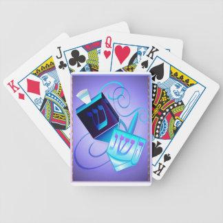 Dos tarjetas de giro Dreidels-Felices Barajas