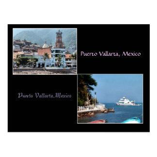dos tiros de la postal de Puerto Vallarta