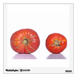 Dos tomates vinilo decorativo