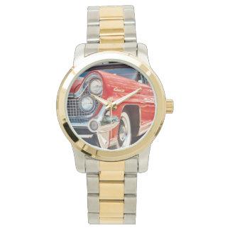 Dos-Tono 1959 de Lincoln con oro y tono plateado Reloj De Mano