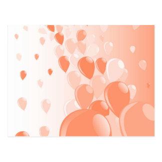 Dos tono Baloons Postales