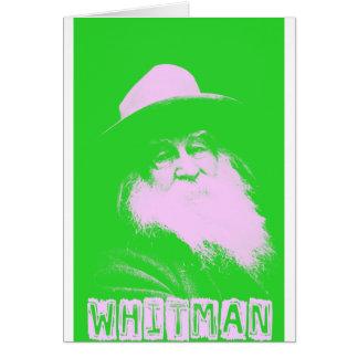 Dos-Tono de Walt Whitman Felicitacion