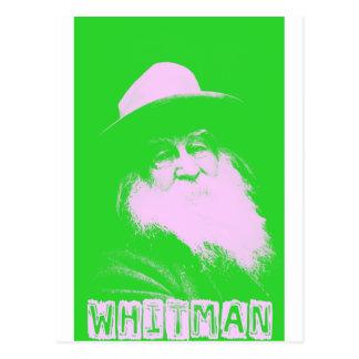 Dos-Tono de Walt Whitman Postales
