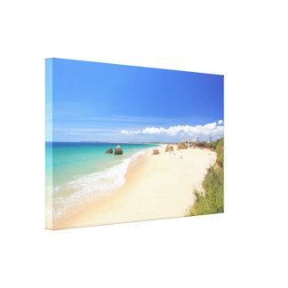 DOS Tres Irmaos del Praia Impresión En Lienzo