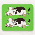 Dos vacas alfombrilla de ratón