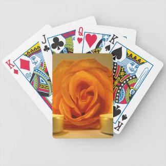 dos velas color de rosa de imagen floral amarillo- barajas