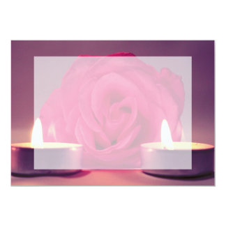 dos velas color de rosa de imagen floral rosada comunicados personales