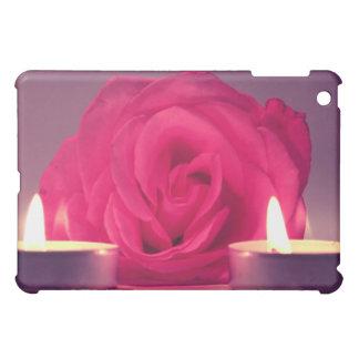 dos velas color de rosa de imagen floral rosada os