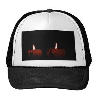 Dos velas gorras