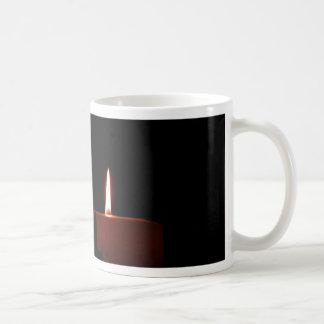 Dos velas taza clásica