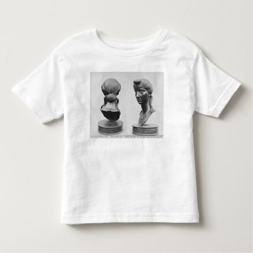 Dos vistas de un busto de Livia Tee Shirts