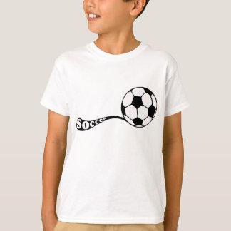 Dosis de la camiseta del fútbol
