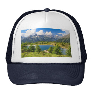 Doss dei Gembri lake in Pejo Valley Trucker Hat