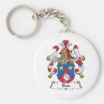 Doss Family Crest Keychain