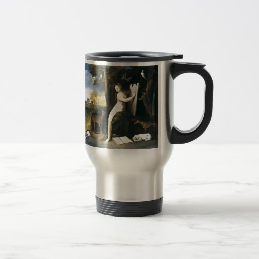 Dosso Dossi Circe and her Lovers in a Landscape Mugs