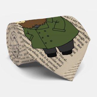 Dostoevsky hedgehog necktie! tie