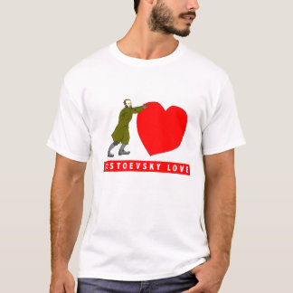 Dostoevsky Love  Valentine's Shirt