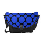 Dot 2 Blue Courier Bags