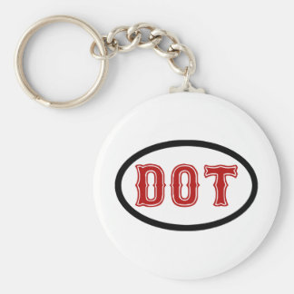 DOT City Keychain
