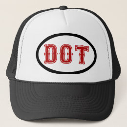 DOT City Trucker Hat