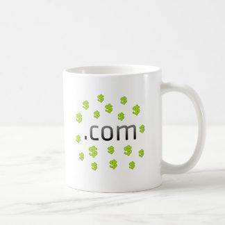 Dot Com Money Coffee Mug