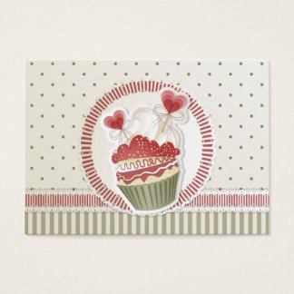 Dot Cupcake Business Card