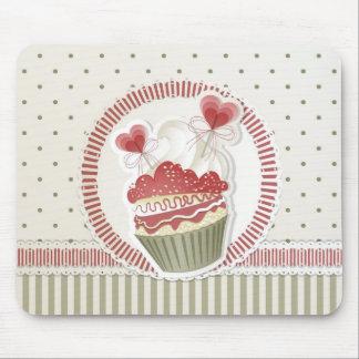 Dot Cupcake Mousepad