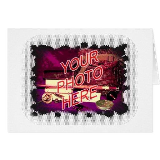 Dot Fade frame template Cards