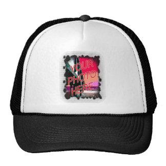 Dot Fade frame template Hat