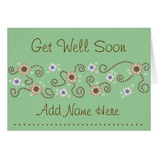 Dot Get Well Card