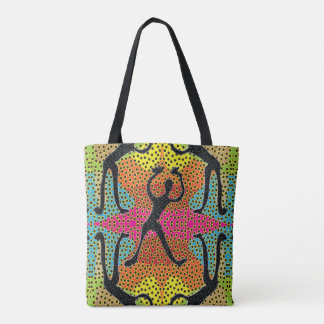 Dot Mania Tote Bag