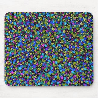 Dot Matrix: Blue Mousepad