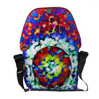 Dot Matrix Courier Bag