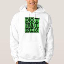 Dot Matrix, Patterned Array Hoodie