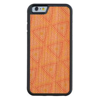 Dot mosaic carved cherry iPhone 6 bumper case
