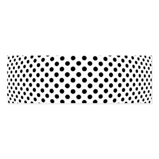 Dot Optical Illusion Double-Sided Mini Business Cards (Pack Of 20)