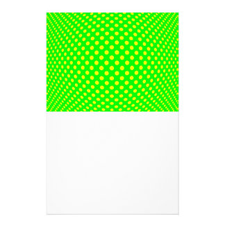 Dot Optical Illusion Stationery