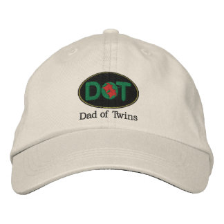 DOT (Oval-BGR) Embroidered Hat