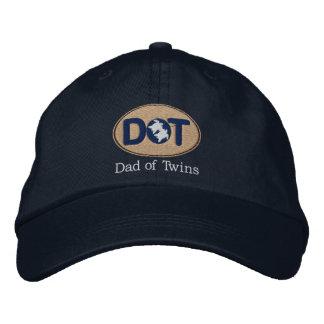 DOT (Oval-Drk) Baseball Cap