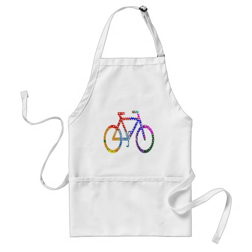 Dot Painted Cycle : Your Group Identity Aprons