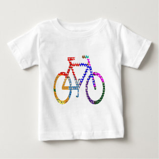 Dot Painted Cycle : Your Group Identity Baby T-Shirt