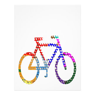 Dot Painted Cycle : Your Group Identity Personalized Letterhead
