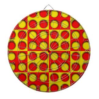 dot pattern #2 dartboard with darts