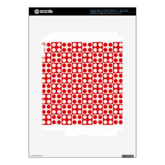 dot pattern #3 iPad 3 decals