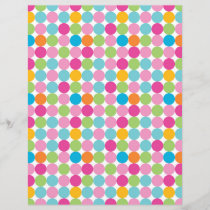 Dot Pattern Paper for craft and scrapbook
