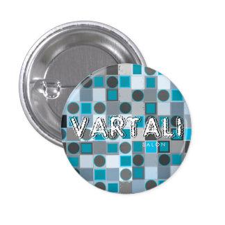 Dot & Square Texture Vartali Round Button