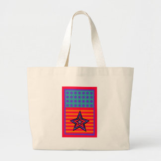 Dot Stars-n-Stripes Large Tote Bag
