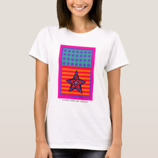 Dot Stars-n-Stripes with Label T-Shirt