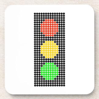 Dot Stoplight Coaster