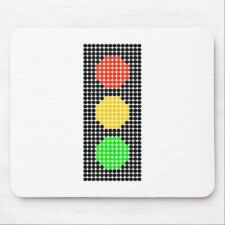 Dot Stoplight Mouse Pad